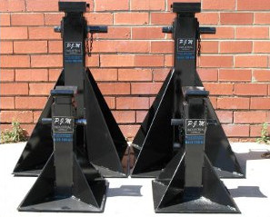 10 and 20 Ton Mechanical Jack Stands For Sale