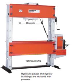 Workshop Press 100 Ton H Frame Press For Sale. Workshop Press, H Frame Press.