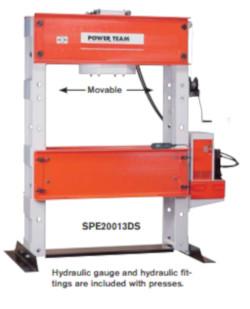 Workshop Press 150-200 Ton High Tonnage H Frame Press For Sale. Workshop Press, H Frame Press.