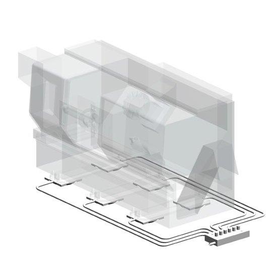 Aerofilm Systems Modular Air Caster System