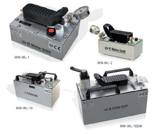 Werner Weitner Air Hydraulic Pumps   Air Hydraulic Foot Pumps