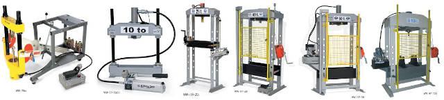 Automotive Workshop Presses for sale. Capacity 10 Ton to 100 Ton