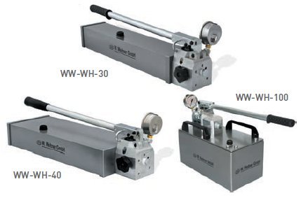 Werner Weitner Double Speed High Flow Hydraulic Hand Pumps For Sale
