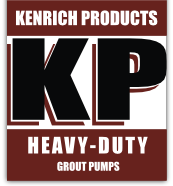 Kenrich Products Heavy Duty Grout Pumps