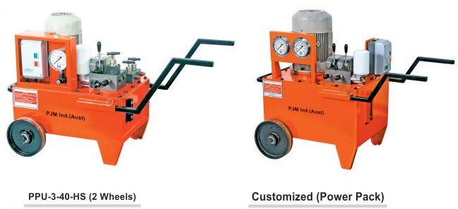 PJM Industrial Hydraulic Hydraulic Power Packs Hydraulic Jacks