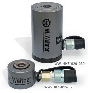 Werner Weitner 700 Bar Hollow Piston Cylinder Hydraulic Jack