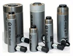 Werner Weitner 700 Bar Single Acting Spring Return Cylinder Hydraulic Jack
